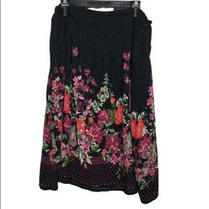 Notations Floral Skirt